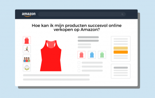 verkopen op Amazon met een online marketing bureau