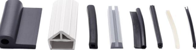 rubber profielen, verschillen in maat en vorm